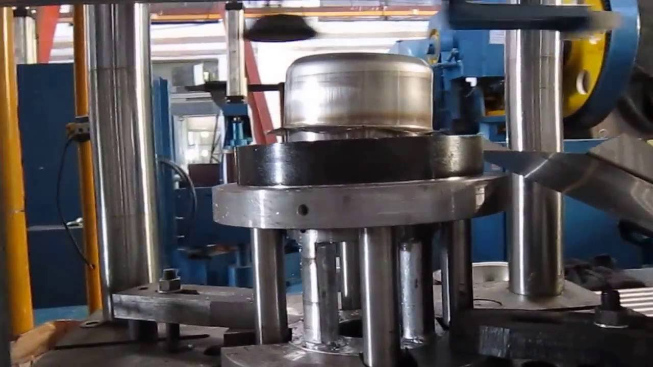 How To Make 201 Stainless Steel Pot Automatically Youtube