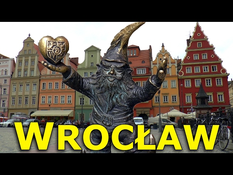 WROCŁAW: HISTORY, CULTURE and DWARFS.  New!