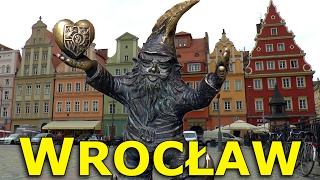 WROCŁAW, POLAND │ HISTORY, CULTURE and DWARFS.  HD.