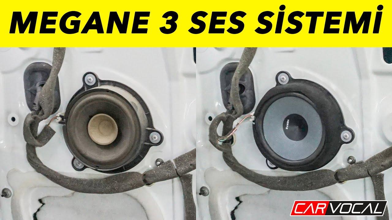 Renault Megane 3 Ses Sistemi Uygulaması