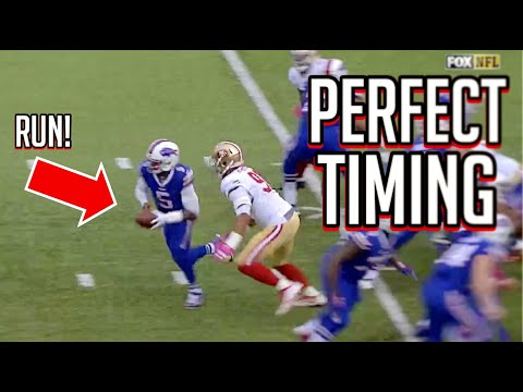 NFL Perfectly Timed Hits || HD