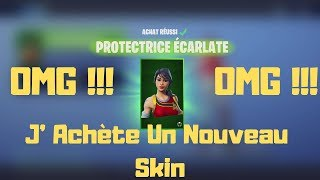 Fortnite J'Achète Un Nouveau Skin '' PROTECTRICE ECARLATE'' Dans La Boutique OMG !!!