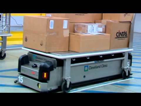 Automated Guided Vehicles At Cleveland Clinic