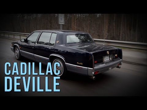 Cadillac DeVille 1991 - как довести SRT до истерики #SRT