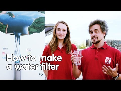 How to make a water filter | Do Try This At Home | At-Bristol Science Centre