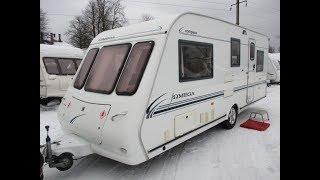 Обзор каравана,жилого прицепа,дома на колёсах,кемпера  COMPASS OMEGA 2003 года 6 мест