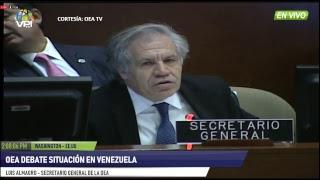 EEUU   Juan Guaidò Fue Reconocido Como Presidente De Venezuela Por Mayoría De La OEA   VP Tv