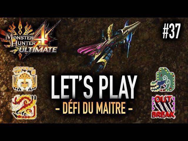 DERNIÈRE QUÊTE CARAVANE : QUEL ENFER - #37 Let's Play MH4U HD