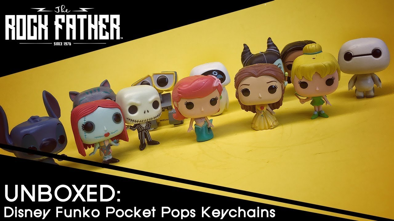 Unboxed: Funko Disney Series 1 Pocket Pop! Key Chain Display Case!