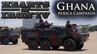 Hearts of Iron IV - Modern Day - Ghana - Ep 15 - Push into Central Africa