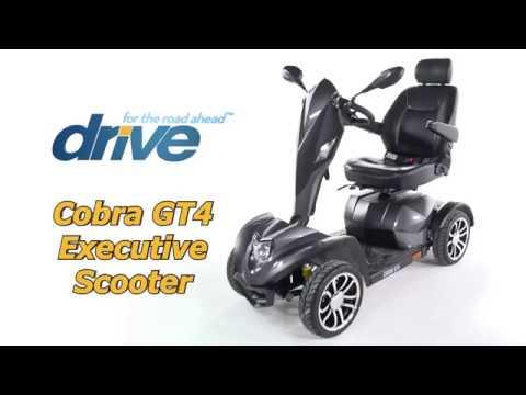 Drive Medical Cobra GT4 4 Wheel Scooter