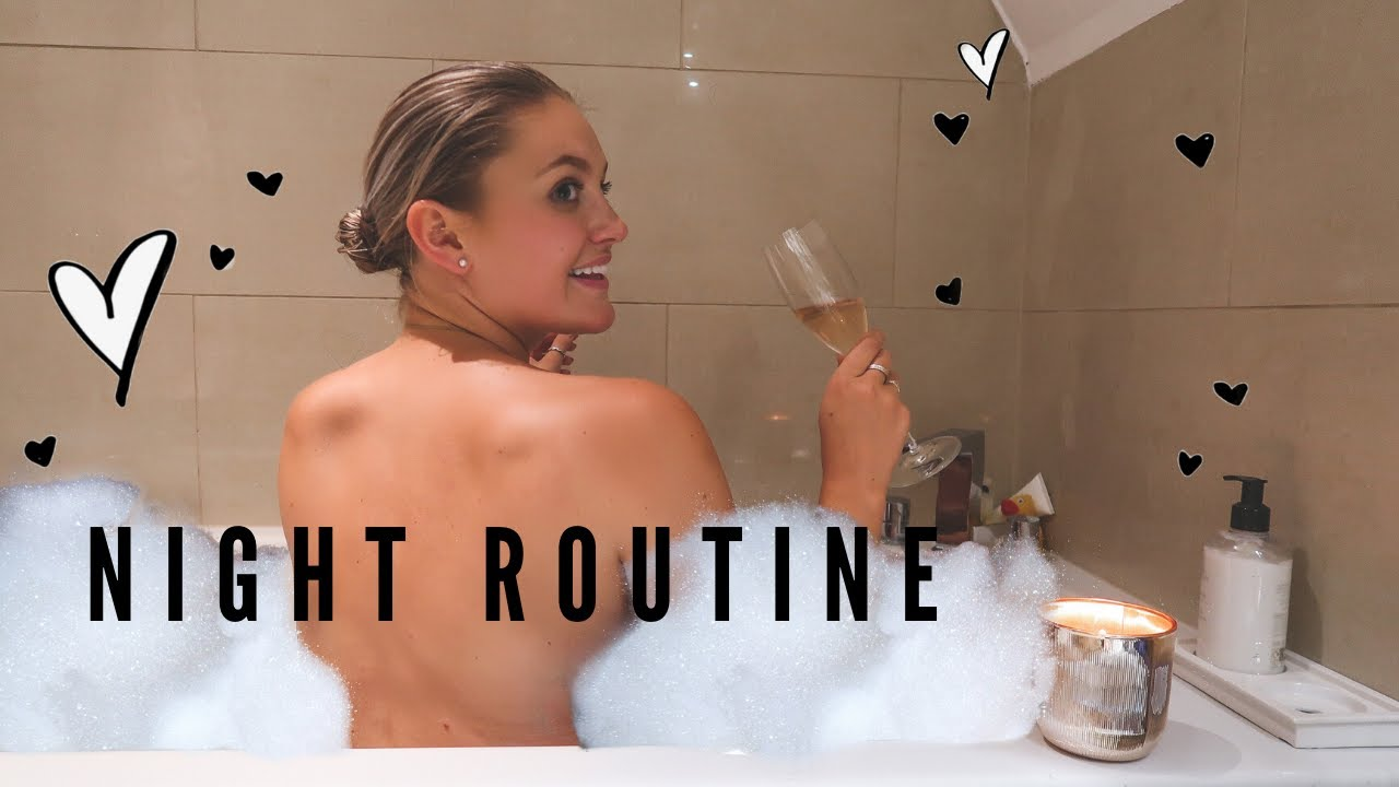 MY NIGHT TIME ROUTINE | SPEED CLEAN, WHAT I EAT & SKINCARE...