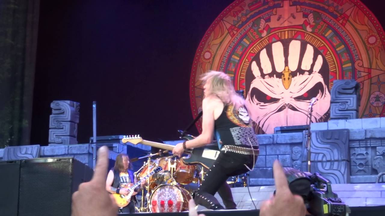 Iron Maiden - The Red and the Black - Praha Prague 2016 ...