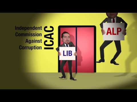 Political corruption has become a revolving door to ICAC - Labor and Liberal constantly at ICAC