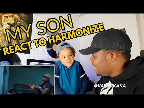 My Son react to Harmonize   Uno |REACTION