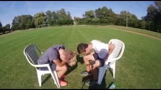 Flachwitz Challenge mit Bestrafung  VibesTV