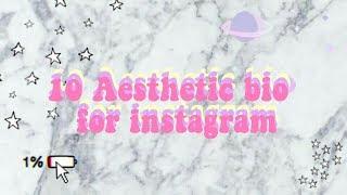 Download Mp3 10 Aesthetic Bio For Instagram/facebook/twitter Etc.