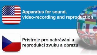 Učte se anglicky #Téma = Audiovizuální prístroje