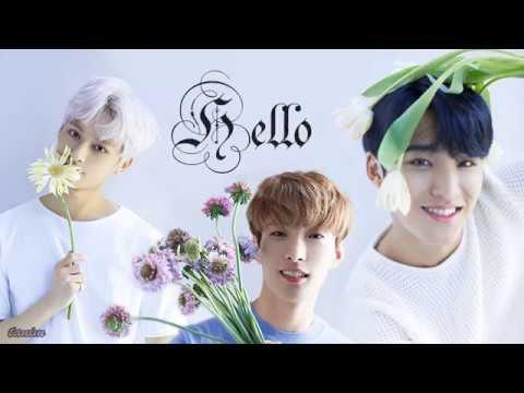 Seventeen - Hello [ Jun, DK, Mingyu ] Lyrics | Han | Rom | Eng |