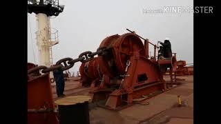 Anchoring procedures | Let go anchor | heaving up anchor |