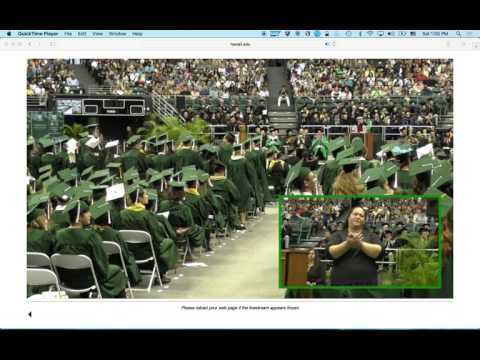 University of Hawaii Commencement 2017