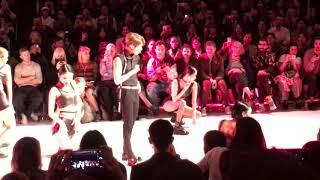 171017 Seoul Fashion Week SUPERCOMMAB Show - SHINee Taemin Move