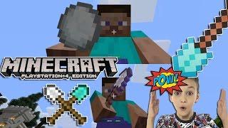 Minecraft Мини Игры Лопата и Снежки Играю в МАЙНКРАФТ на PS4 Minecraft Летсплей