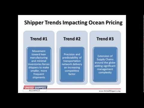 Webinar - How to Turn Ocean Transportation Programs into a Competitive Advantage