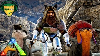 ARK WHERE TO FIND OTTER ON RAGNAROK - HOW TO TAME AND BREED - MELTED CHEESE RAGNAROK SERVER