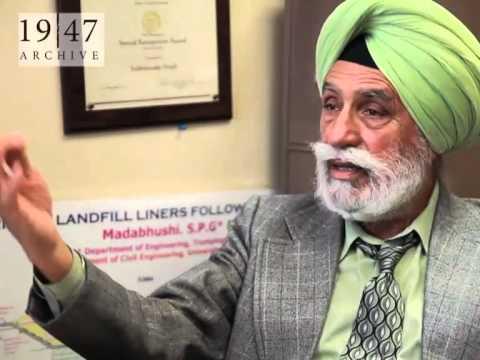 Dr. Sukhmander Singh lived in District Gurdaspur in 1947