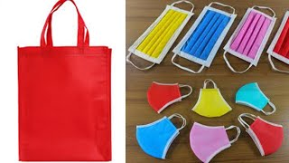 Easy to Make Face Mask at Home | Cloth Bag | TamilthThentral | Ishwaryarajesh