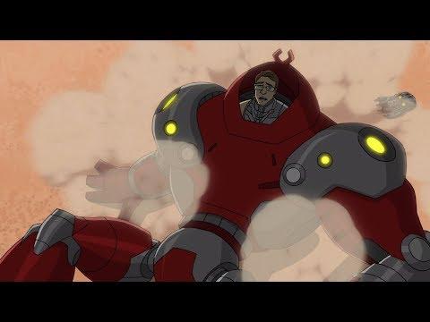 האוונג'רס - צוות גיבורי העל - האיחוד | האמר בצרה | Marvel Avengers: Assemble