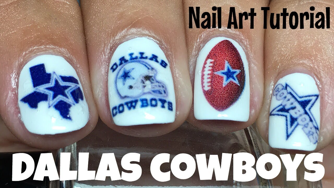 Nail Art Ideas » Cowboy Nail Art - Pictures of Nail Art Design Ideas