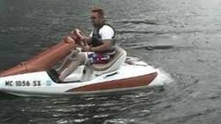 amazing kawasaki sport cruiser jet  funny video