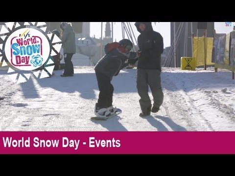 World Snow Day 2013 - Quebec, Canada