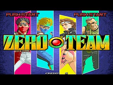 Zero Team (Arcade/Seibu Kaihatsu/1993 Spin) [720p]