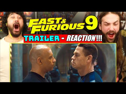 FAST & FURIOUS 9 | TRAILER - REACTION!!!