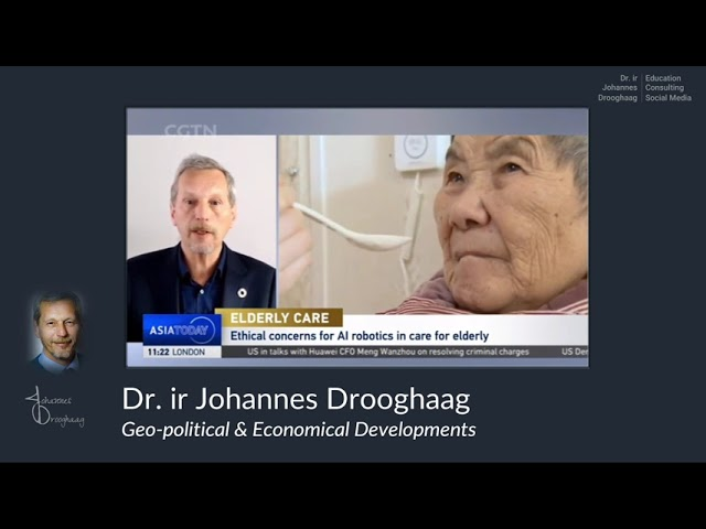 Dr  ir Johannes Drooghaag - what is the role of AI and technology in elderly care?