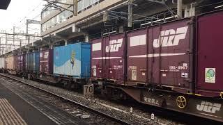 【ブロワー起動音】EF81-454 1091レ 小倉駅貨物線出発