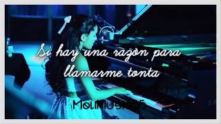 Ariana Grande - Die In Your Arms [Traduccion en Español] [Justin Bieber Cover]