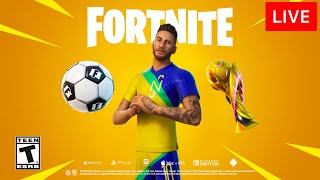 🔴 [LIVE] *NEW* FORTNITE UPDATE! (NEYMAR JR)