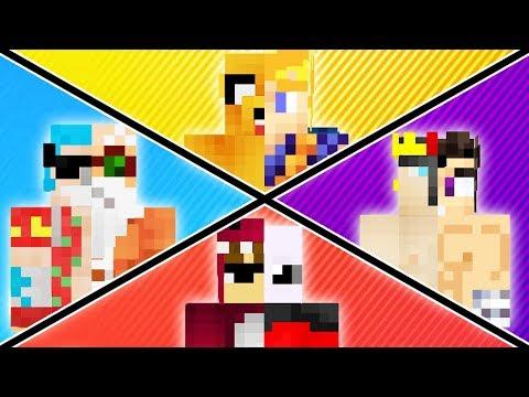 ¡NOS CONVERTIMOS EN DRAGON BALL SUPER! 😆💪MINIJUEGO MINECRAFT: SUBE AL TEMPLO SAGRADO!!!