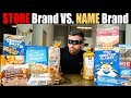 Name Brand Vs. Store Brand Taste Test (Results May Surprise You)