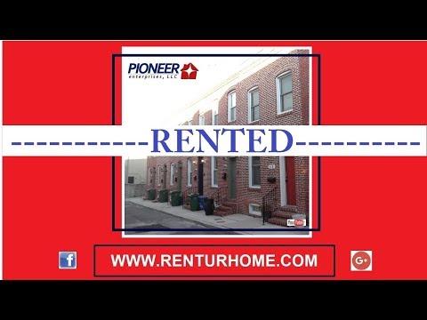 RENTAL - 219 N. Madeira Street, Baltimore, Maryland 21231