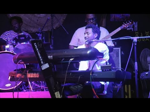 "Kibrom A. Birhane - ""Folle""  ( Oromigna ) ' Live @ African Jazz Village, Addis Ababa"
