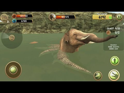 Wild Crocodile Simulator 3D Android Gameplay #3