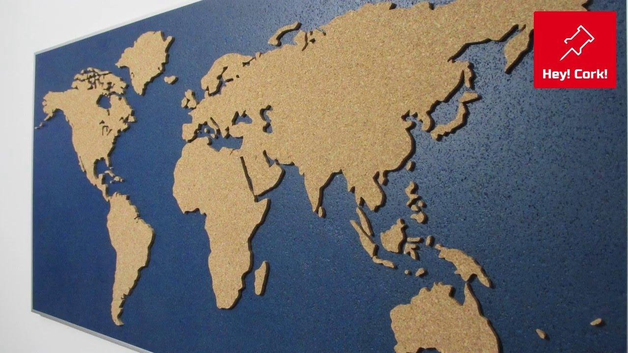 Реальные размеры стран. (настенные карты нам врут). - YouTube