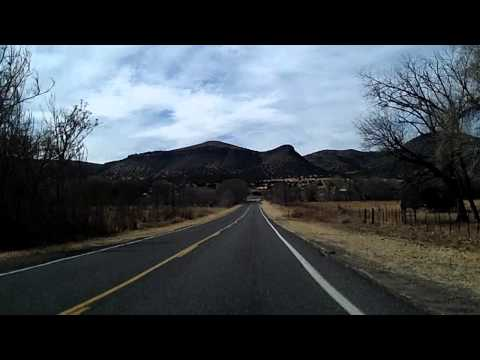 Emory Pass, Black Mountains to Silver City Scenic Route 152 Dashcam