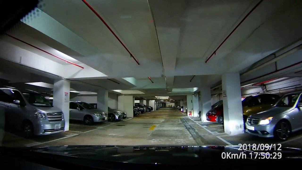 [停車場][高清][P牌資訊] 沙田 希爾頓中心 停車場 Hilton Plaza - YouTube