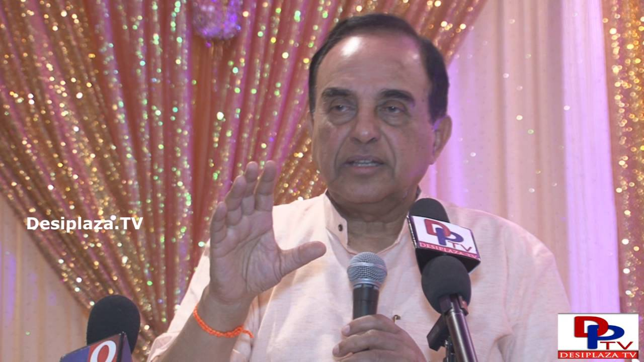 Part 4. Dr.Subramanian Swamy giving his lecture at GHHF sponsored event in Dallas.